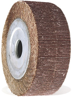 Flap wheel for bench grinder